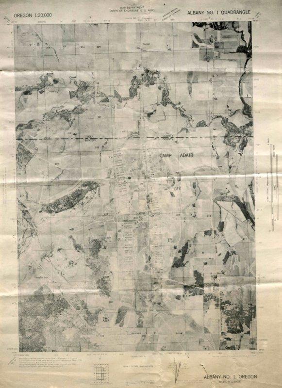 15 Juin, 1943 à Camp Adair, Oregon 70th