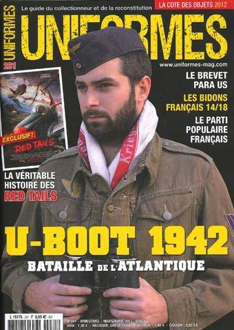 Je recherche Uniforme Magazine de 2012