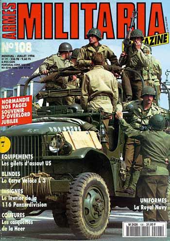 je cherche aussi c'est numéro manquant de Militaria Magazine