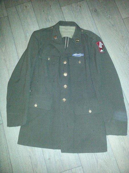 Rentrée veste de sortie de la 70th infantry us ww2