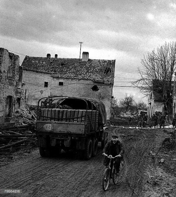 Le village de Ostheim le 12 Février 1945