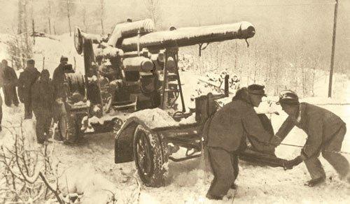 88mm gun near Wingen