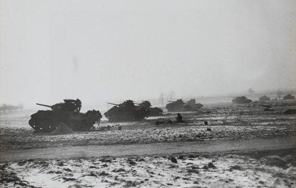 Bataille de chars à Gambsheim le 21 janvier 1945
