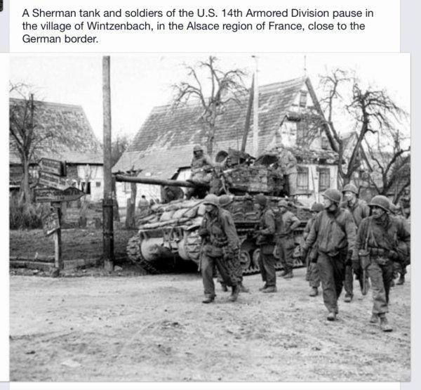 Wintzenbach 14th Armored Division