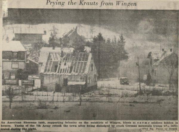Wingen 1945