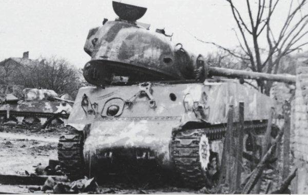 M4A3, 12th Armored Division Herrlisheim.