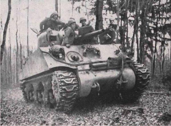 Secteur Bitche (57) - 1945 781st Tank Battalion
