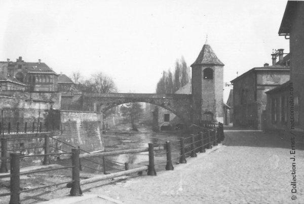 Quai des Pecheurs Haguenau 1944