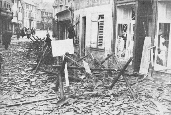 Grand rue Haguenau 1944