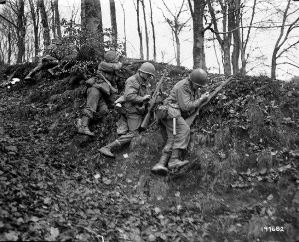 100th Infantry Division Rosteig, Lemberg, December 1944.