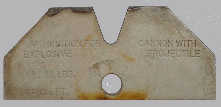 Les containers Cartons us ww2. ( voir le texte )