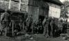Troupes Américaines se reposant, au alentours de Meisenthal.