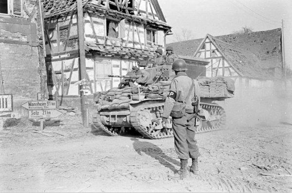 Mars 1945. Surbourg