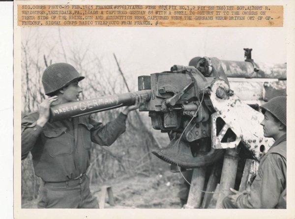 Offendorf 20 février 1945