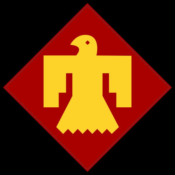 45th Infantry insignia (thunderbird)
