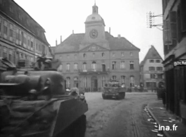 L'Hôtel de ville de Wissembourg