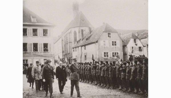 il y a 75 ans le général de gaulle était a Saverne