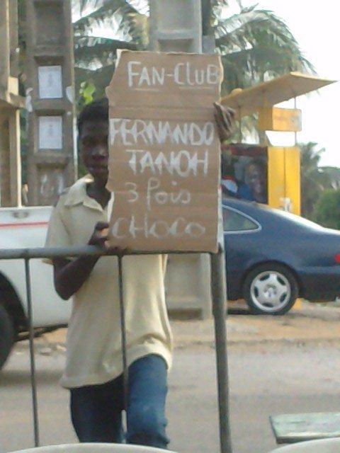 L'HOMME KI MOUSSE ACTU A POY. FERNANDO TANOH.