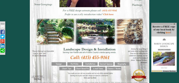 Mystical Landscapes is a top Marin Landscape Designer