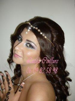 Maquillage libanais , Coiffure Maquillage libanais , Coiffure