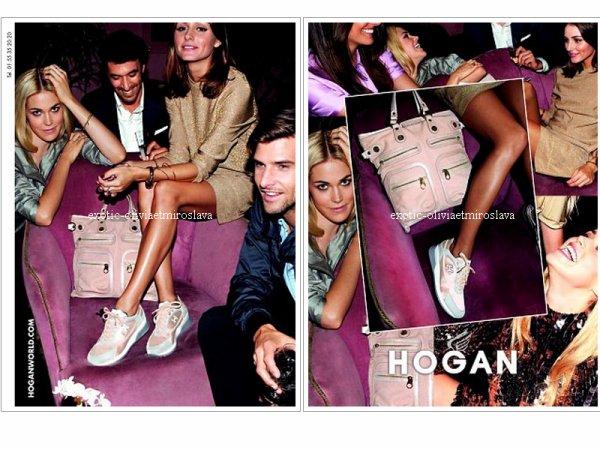 Olivia Palermo & Johannes Huebl pour Hogan printemps/été 2011