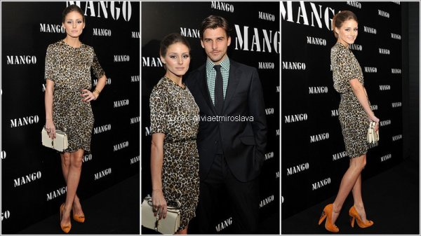 Soiré Olivia Palermo & Johannes au Mango Show a Moscou