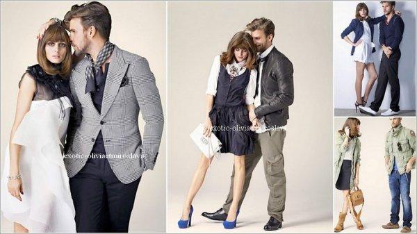 """Magazine Olivia Palermo & Johannes Huebl pose  pour la revue du site """" Apropos """""""