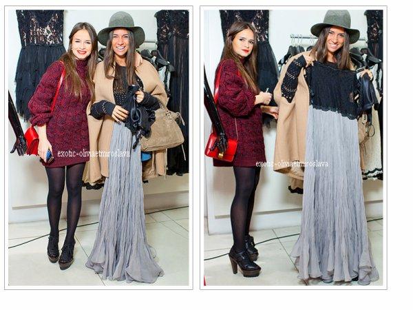 Soiré Mira & Natasha Goldenberg dans un magasin en Russie