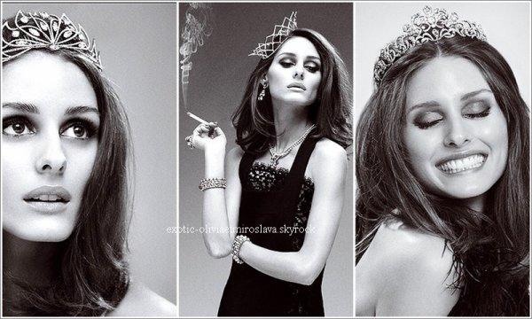 Magazine   Olivia Palermo pour le Vogue Espagnol Magnifique ,c'est photos sont un coup de coeur