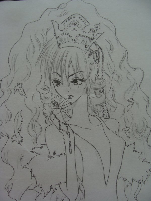 Princesse Ai, dessinée par moi