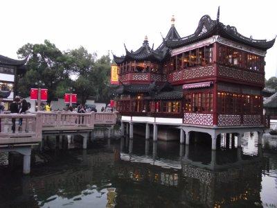 La vieille ville de Shanghai et le Bund
