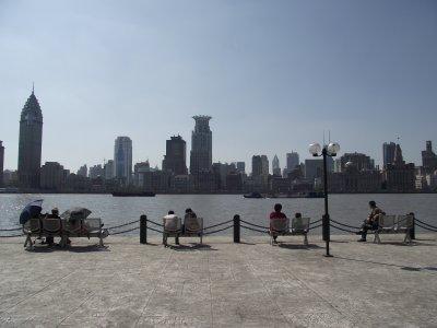 Shanghai, de l'autre coté du fleuve
