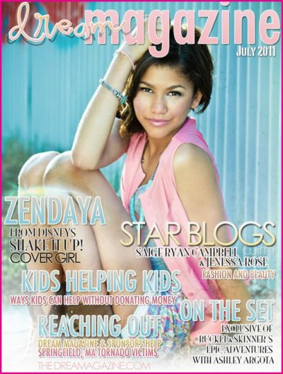 Zendaya en couverture pour Dream Magazine