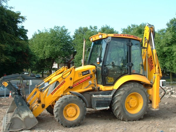 jcb tractopelle