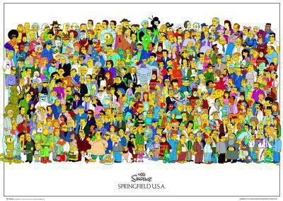 Tous les personnages des simpsons tout simplemnt - Les simpson tout nu ...