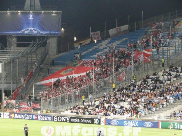 Olympique de Marseille - 0 - 1 - Spartak Moscou