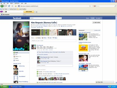 This is my FACEBOOK profile !