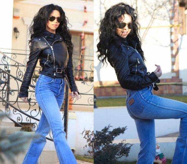 Inna a posté 2 photos d'elle en expliquant qu'elle portait le jean à sa mère