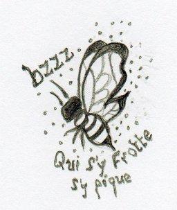 Chaque fleur attire sa mouche.  J.R