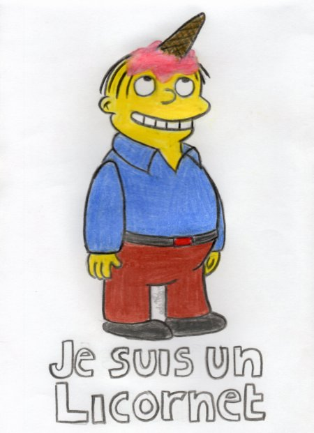 I'm already feeling like a chicken, I just made an egg in my pants. Ralph Wiggum.