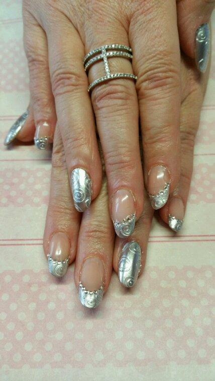 Textone silver