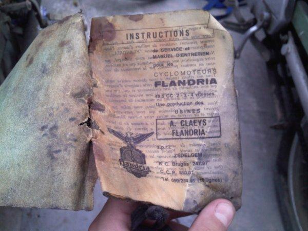 Flandria Sportif IV Avant Restauration