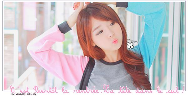 Image Korean Girls : C'est bientôt la rentrée ! Oh my god !