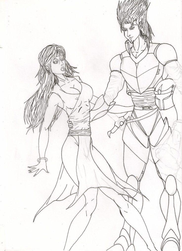 Mon premier dessin depuis que j'ai  arrêté