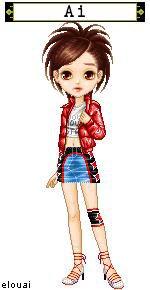 Presentations des personnages: Ai Akasaka