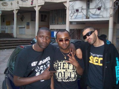 Making of AFRICAN GANGSTA le film ( cite rose pierrefitte sur seine)