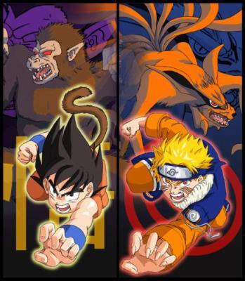 Goris vs demon renard naruto vs dbz ou naruto et dbz - Naruto renard ...