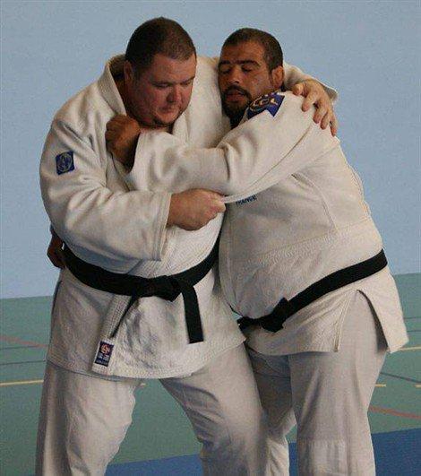 l'équipe de france de judo