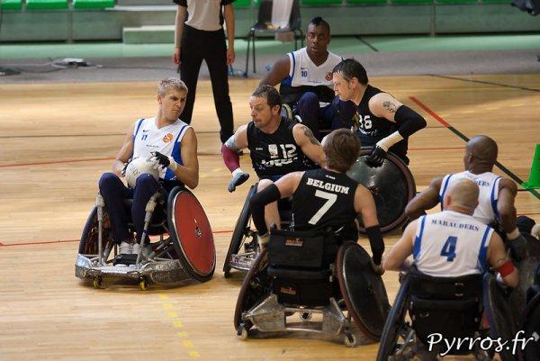 l'équipe de france de rugby fauteuil