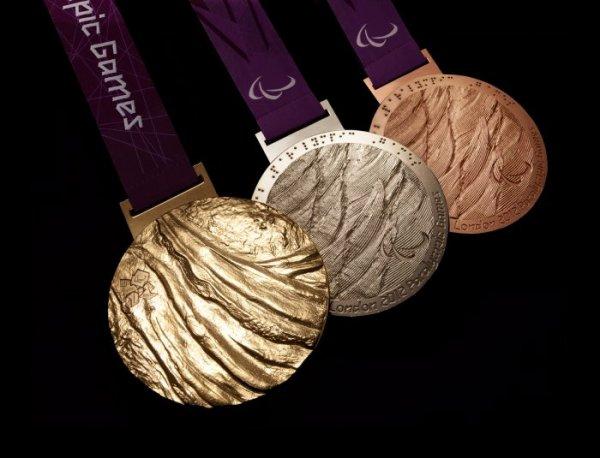 les médaillés d'or sont